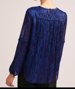 Moulinette Soeurs  The Ruffled Metallic by Anthro